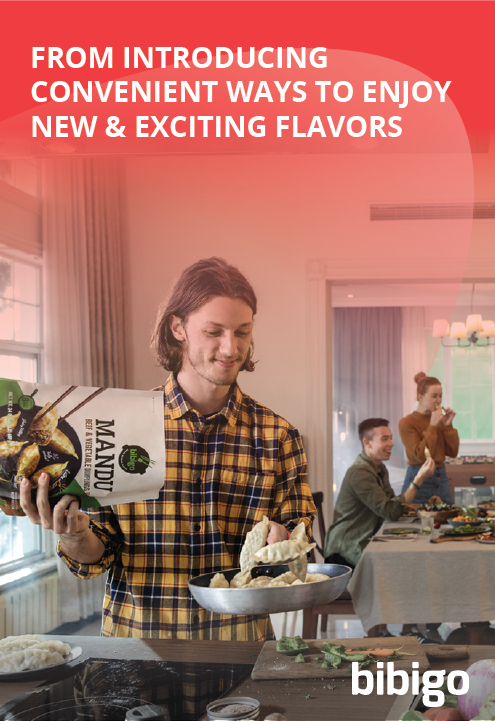 From introducing convenient ways to enjoy new and exciting flavors with bibigo