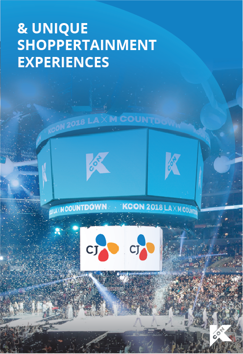 And unique shopping experiences with KCON